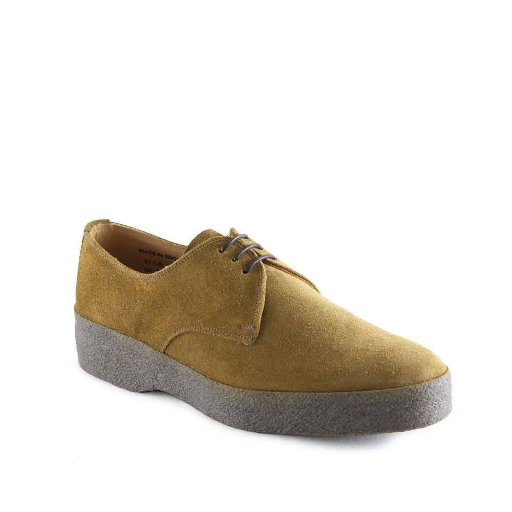 Sanders Lo-Top Gibson Shoe in Indiana Tan Suede.jpg