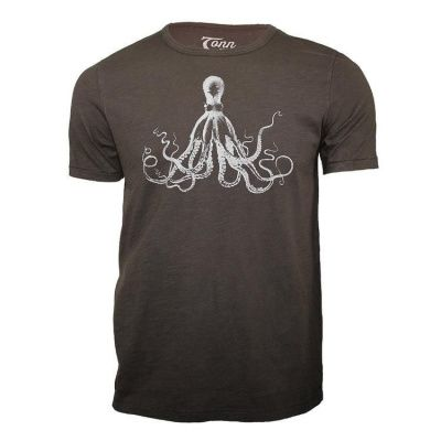 Tonn T-Shirt Octupus in Black