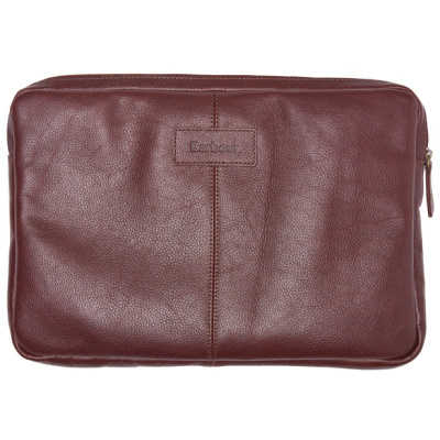 Barbour Leather Laptop Sleeve
