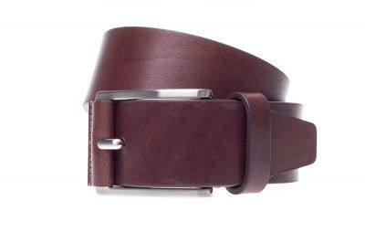 John White 40mm Belt in Casual Brown Calf