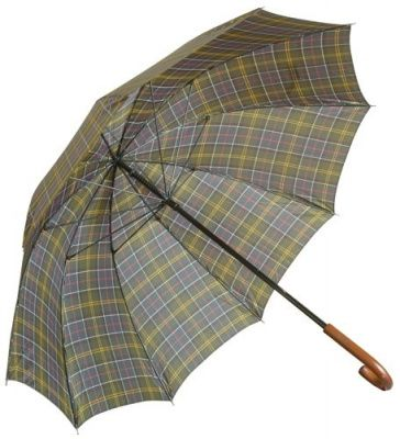 Barbour Tartan Golf Umbrella