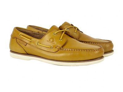 Chatham Newton Deck Shoes in Yellow