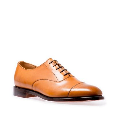NPS Law Oxford Shoes in Acorn