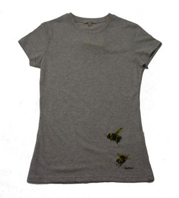 Barbour Herterton T-shirt in Parchment
