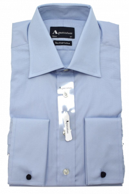 Aquascutum Abingdon Formal Shirt in Blue