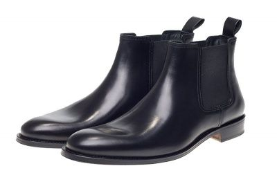 John White Stables Chelsea Boots in Black