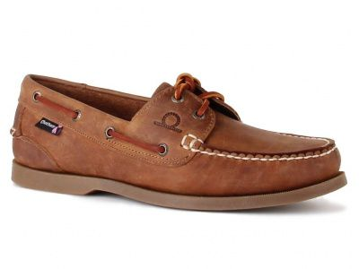 Chatham Deck II G2 Boat Shoes in Walnut