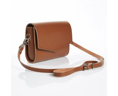 Zatchels Micro Clutch Classic Bag In Chestnut