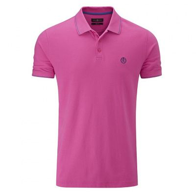 Henri Lloyd Abington Regular Polo in Deep Pink