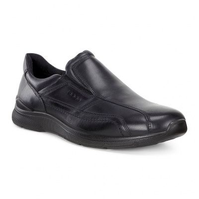ECCO Irving Low Shoes in Black Sambal