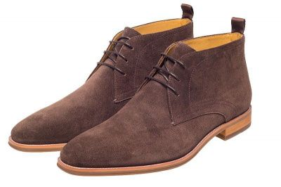 John White Kimpton Suede Chukka Boots In Brown