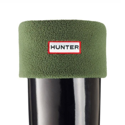 Hunter Unisex Welly Socks Green