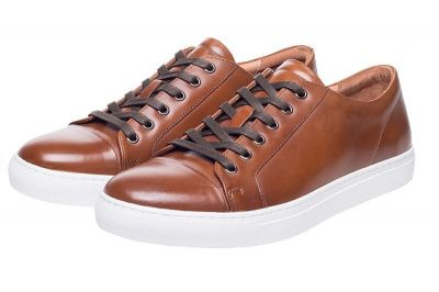 John White Halcyon Sneaker In Tan