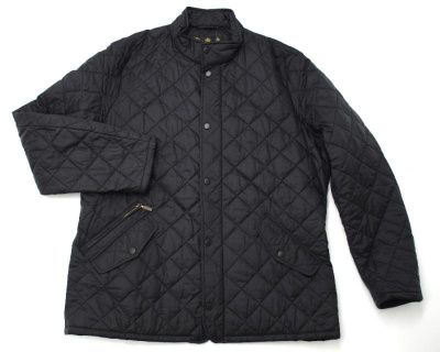 Barbour Flyweight Chelsea Quilted Jacket in Black