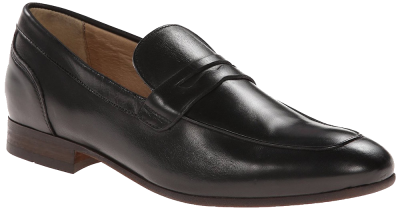 Hudson Reyes Slip-on Loafer in Black Calf