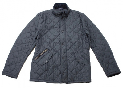 Barbour Chelsea Sportquilt Jacket in Navy