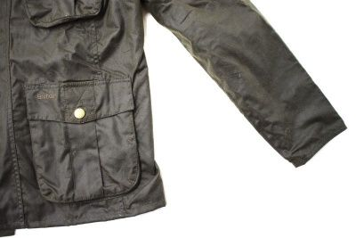 Barbour Men's New Utility Waxed Jacket in Olive