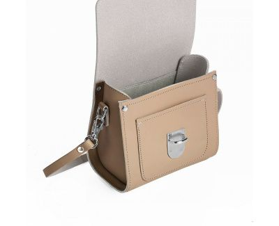 Zatchels Sugarcube Bag In Iced Coffee