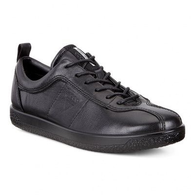 ECCO Soft 1 W Sneakers in Black Droid