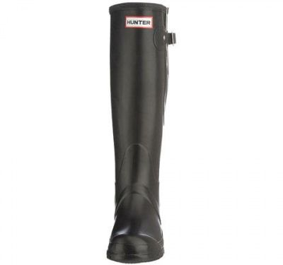 Hunter Original Adjustable Unisex High Boot Welly Black