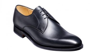 Barker March Derby in Black Calf