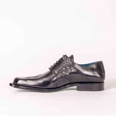 Twisk Rogue Derby Shoe in Black
