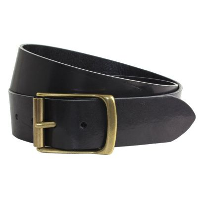 The British Belt Company Rollerston Black Belt