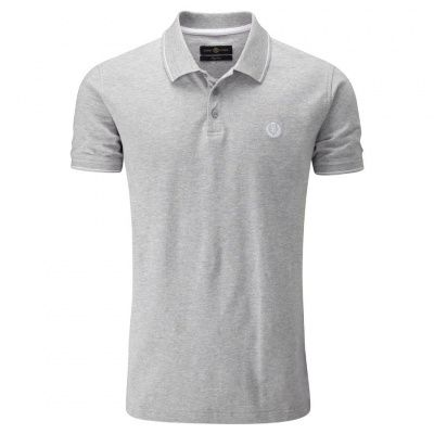 Henri Lloyd Abington Regular Polo in Grey Marl