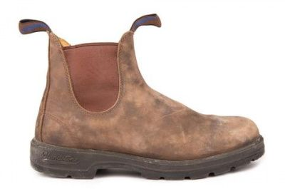 Blundstone 584 Chelsea Boots in Rustic Brown
