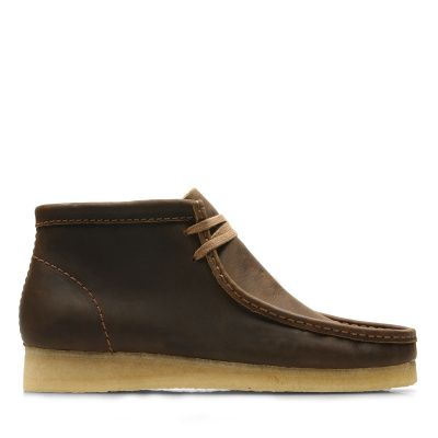 Clarks Wallabee Boot in Beeswax