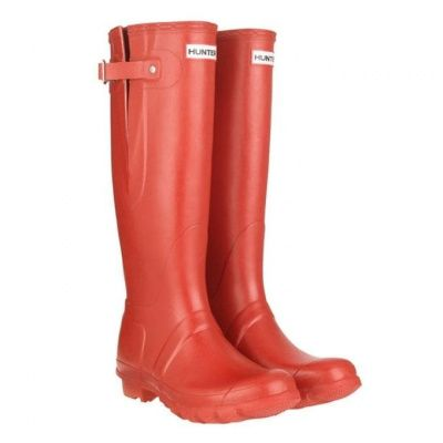 Hunter Orginal Adjustable Unisex High Boot Wellys Red