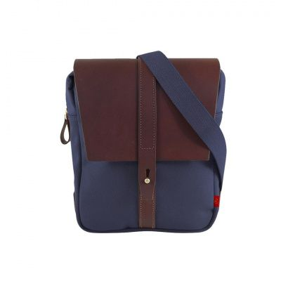Chapman Itchen Small Shoulder Bag in Navy