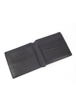 Dents Billfold Wallet Rfid Protection In Black Leather