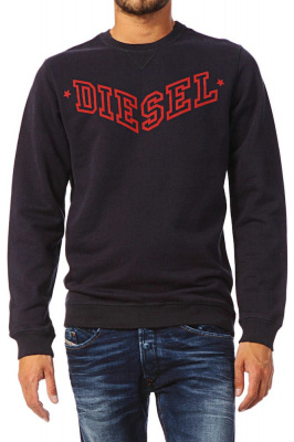 Diesel S Bansi Sweatshirt in Navy