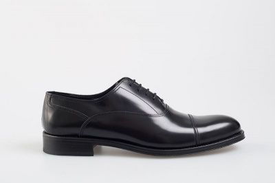 John White Kingsway Oxford Shoe In Black