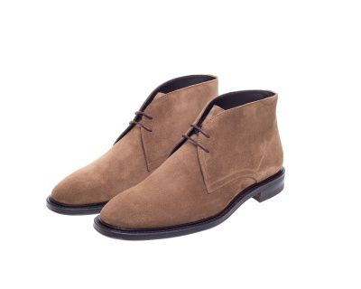 John White Westfield Chukka Boot In Fawn Suede