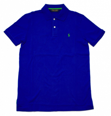 Ralph Lauren Pro Fit Polo in Sapphire Star