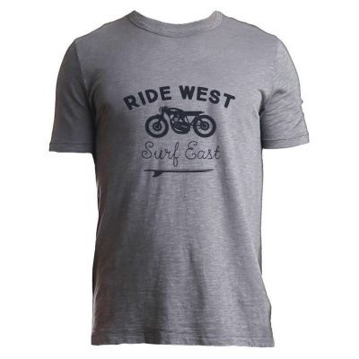 Tonn T-Shirt Ride West in Grey