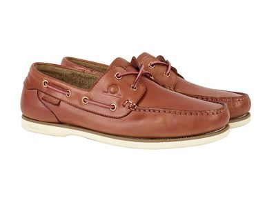 Chatham Newton Deck Shoes in Pink
