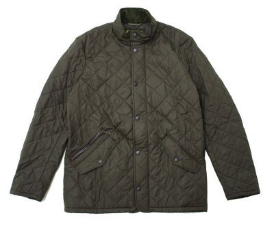 Barbour Chelsea Sportquilt Jacket in Olive