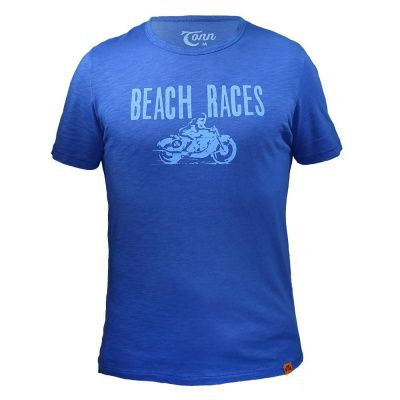Tonn T-Shirt Beach Races in Blue